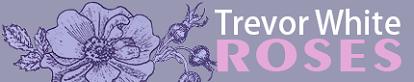 Trevor White Roses Logo